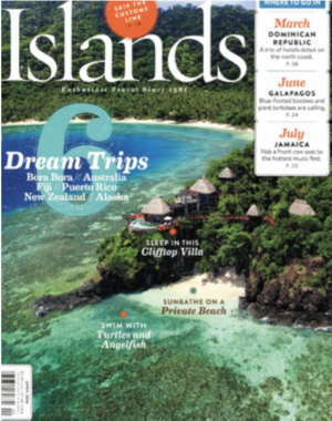 Based in Barbados<br>ISLANDS MAGAZINE