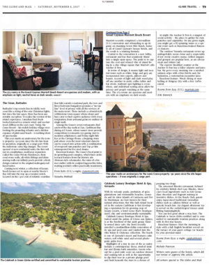 A 130-year-old property in Barbados<br>THE GLOBE AND MAIL