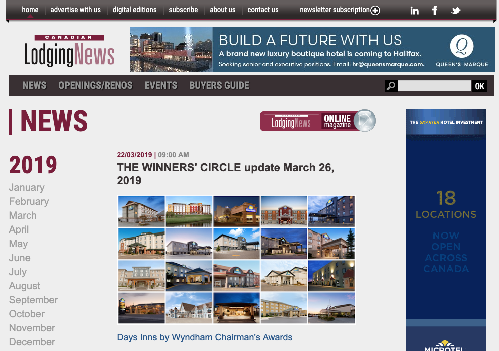 CANADIAN LODGING NEWS