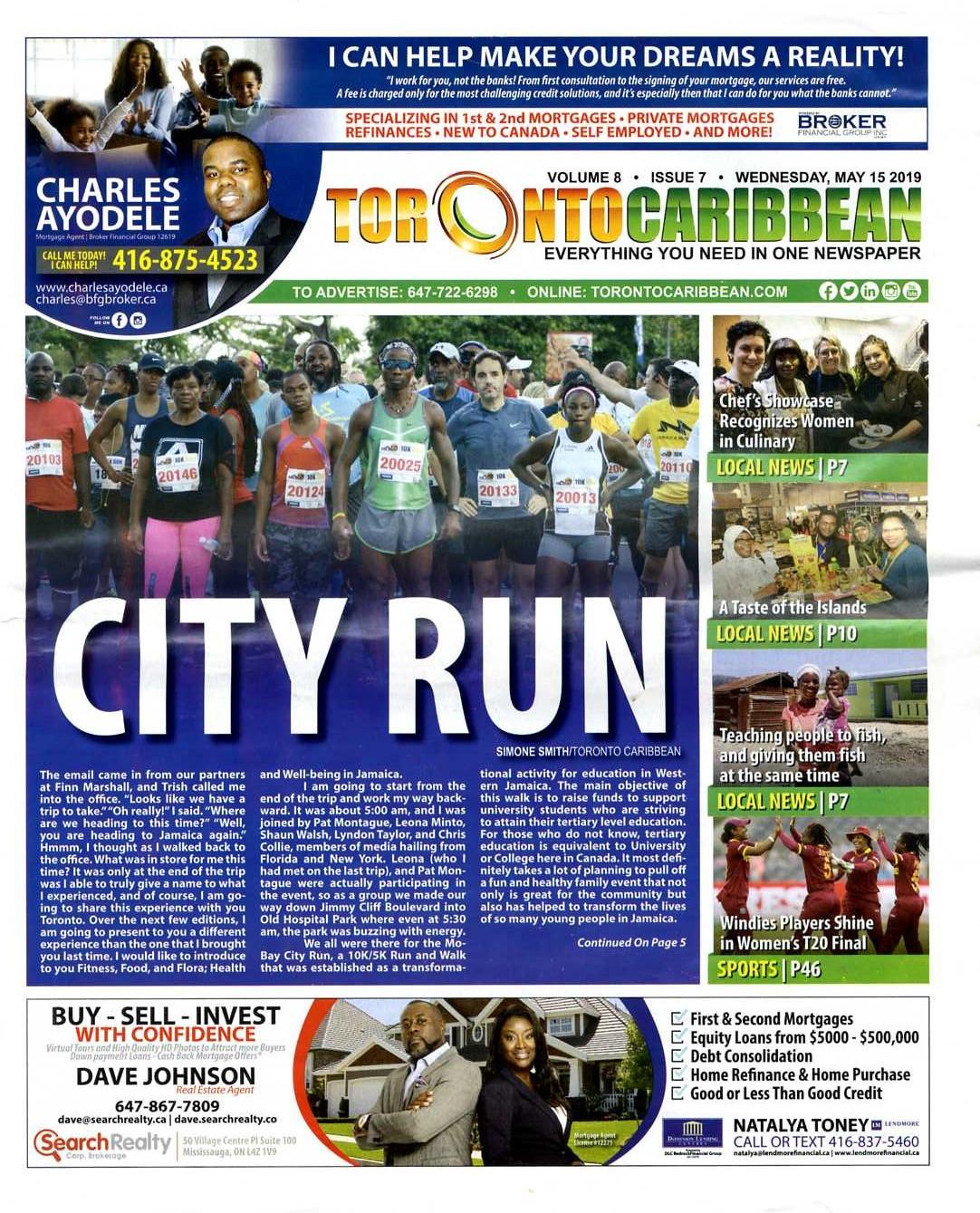 TORONTO CARIBBEAN NEWSPAPER