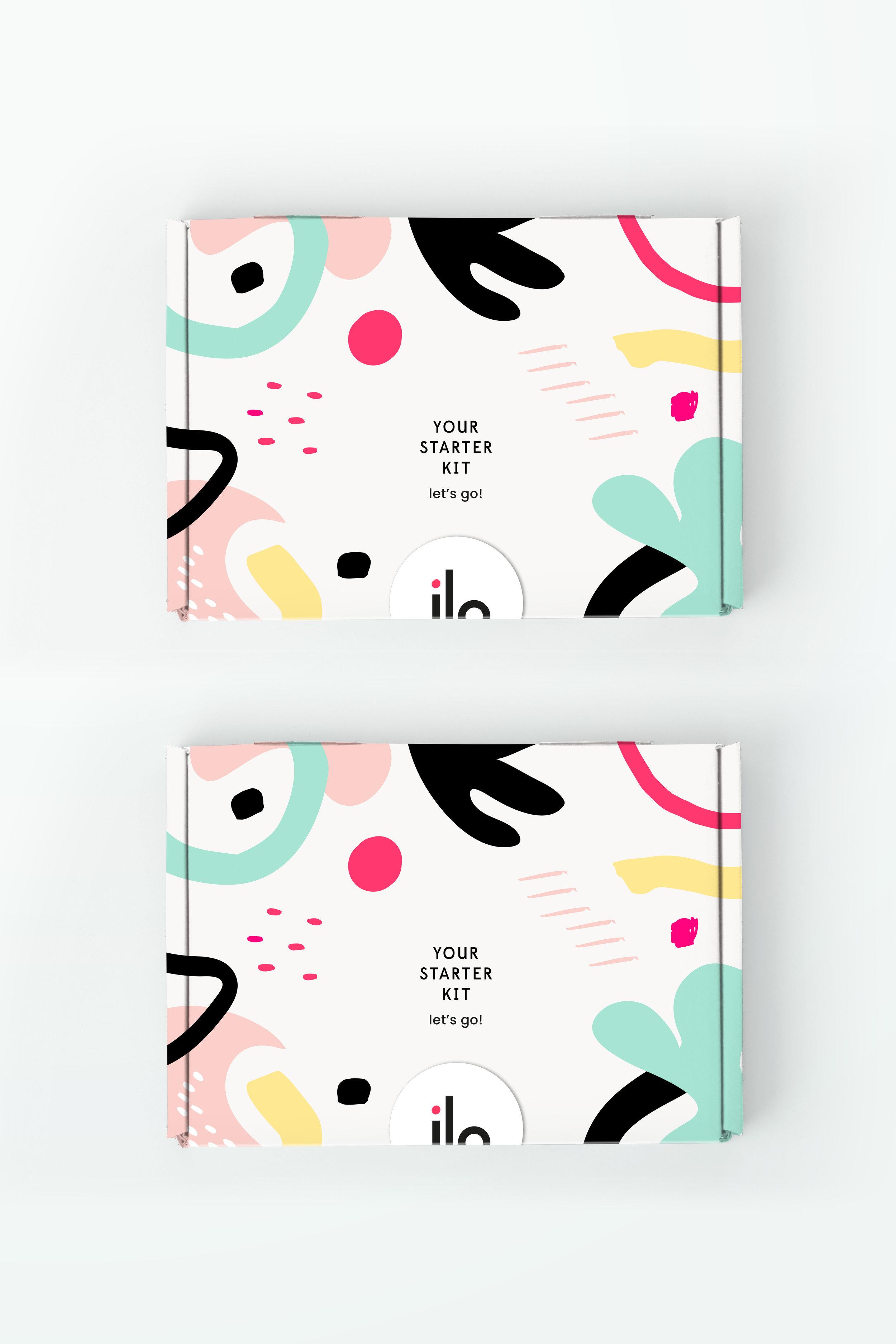 ilo women - Starter kit mail box