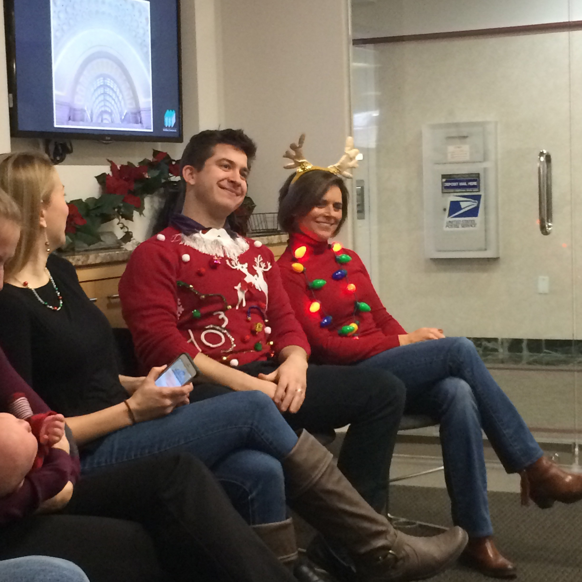 <b>Ugly Sweater Competition</b>