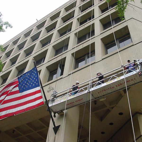 J. Edgar Hoover Building Exterior Concrete Facade & Garage Repairs