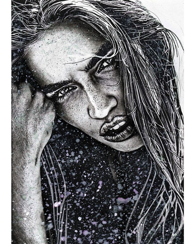 Allow it! My charcoal and paint rendition of the beautiful @lilygilbert_model original image by the lovely @tychophoto 🖤 #charcoal #charcoaldrawing #charcoalportrait #portraitdrawing #arts_help #art_empire #arts_hype #art_worldly #artistic_discover #artistic_support #artistic_unity_ #artistic_share #artist_4_shoutout #artistic_nation #art_collective #art_spotlight #artbrilliants #artfido #artisticcommunity #artisticnation #worldofartists #artrealism #worldofpencils #sketchdaily #beautiful #love_arts_help #fashion #fashionmodel