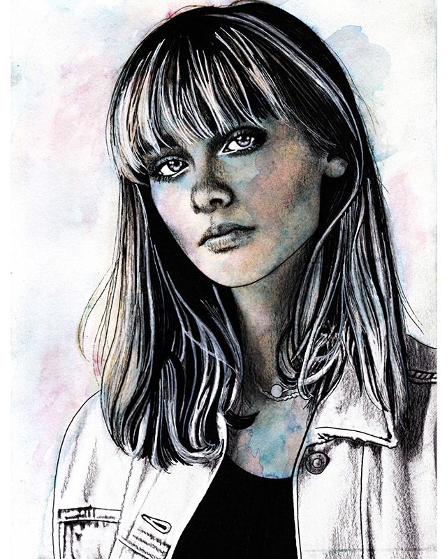 My charcoal and watercolour rendition of the beautiful @camillejansen who is the big 1 8 today! #happybirthdaytoyou 🌈🦋💕✨🍒🍭🌞🌸🌈🦋💕✨🍒🍭🌞 🌸🌈🦋💕✨#charcoal #charcoaldrawing #charcoalportrait #portraitdrawing #ukartist #arts_help #art_empire #arts_hype #art_worldly #artistic_discover #artistic_support #artistic_unity_ #artistic_share #artist_4_shoutout #artistic_nation #art_collective #art_spotlight #artbrilliants #artfido #artisticcommunity #artisticnation #worldofartists #artrealism #worldofpencils #sketchdaily #beautiful #love_arts_help #camillejansen