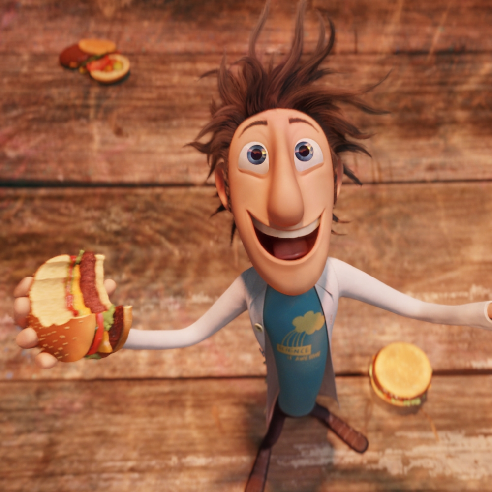 8/2 - Cloudy With A Chance Of Meatballs