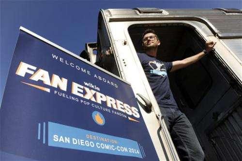 Experiential: A live-edit train to Comic-Con