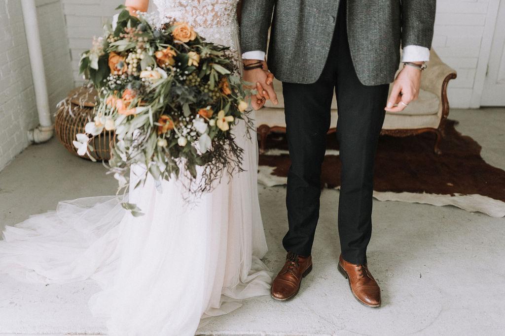 Floret + Foliage Wedding Bouquet, Nicole Midwest