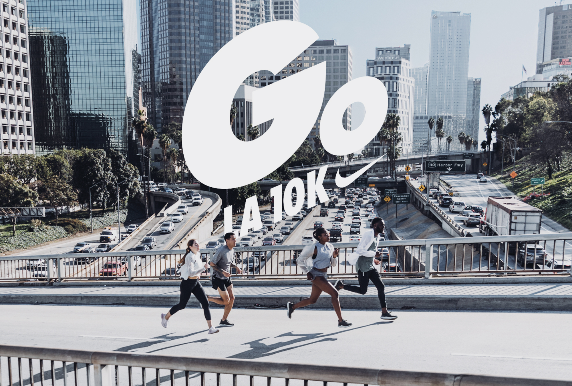 Full-Service Agency: Nike GO! LA 10K Press and Influencer