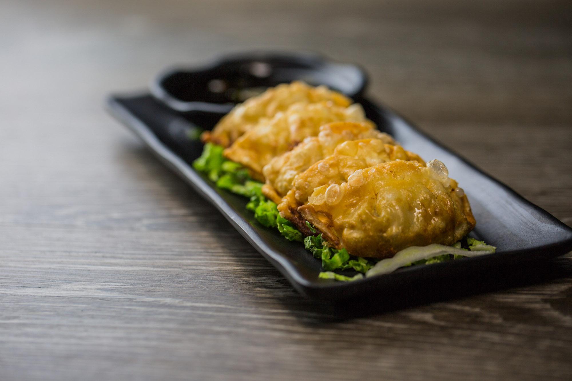 Fried Gyozas (veggie or pork)