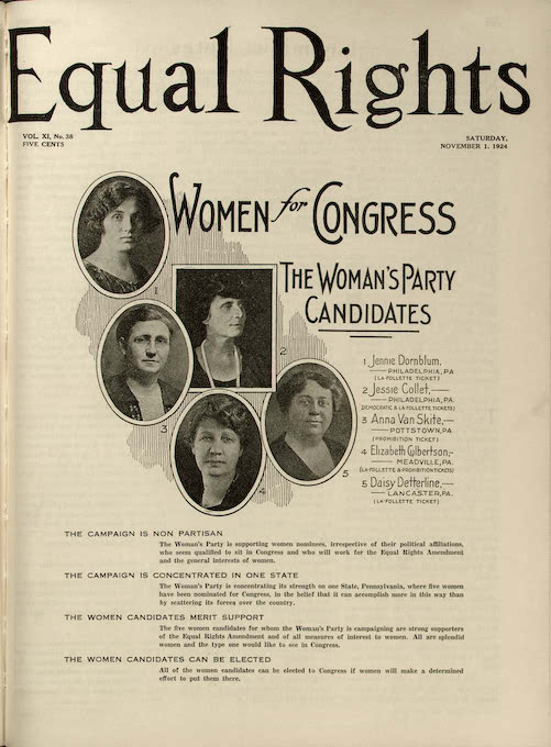 """""""About the National Woman's Party"""""""