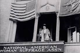"""""""The National American Woman's Suffrage Association"""""""