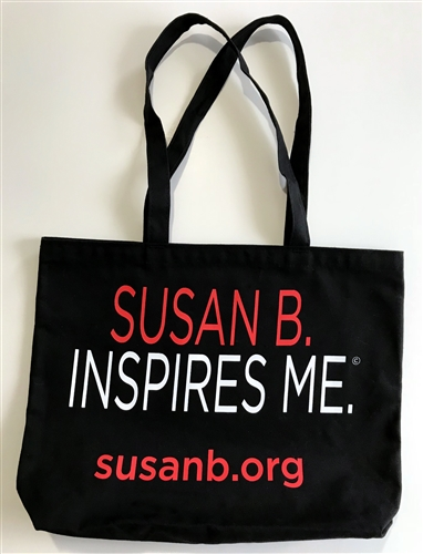Product: Susan B. Inspires Me tote    Vendor: Susan B. Anthony House and Museum