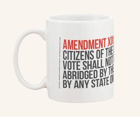 Product: 19th Amendment Mug    Vendor: National Women's History Museum