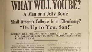 Image: Anti-Suffragist Flyer, c. 1918
