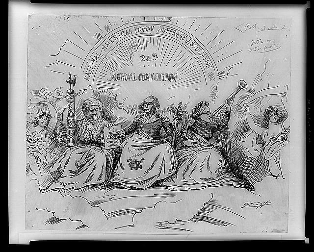 The apotheosis of suffrage