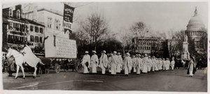 Women Marching in Suffrage Parade in Washington, DC