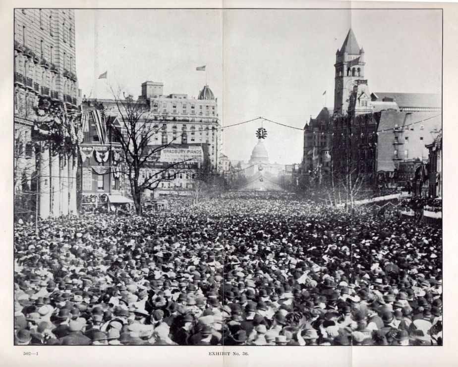 Suffrage and suffering at the 1913 March