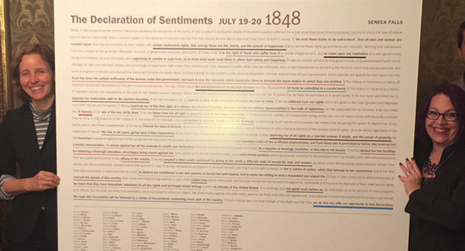 The Road to the Declaration of Sentiments