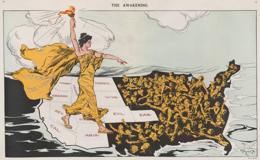 The Complex History of the Women's Suffrage Movement