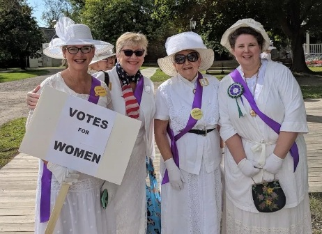 99 years of women's right to vote celebrated at Crossroads Village