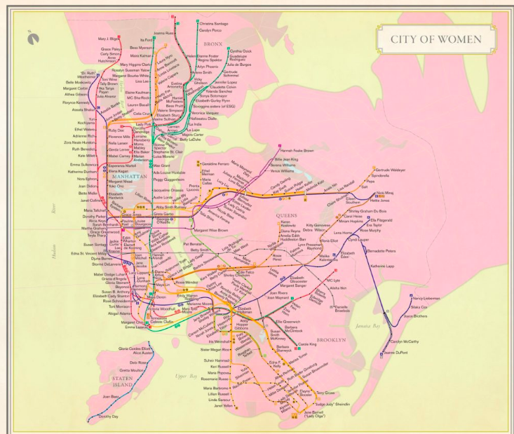 Imagining a New York where the streets are named for women