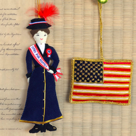 Product: Suffragist Ornament    Vendor: National Archives Store