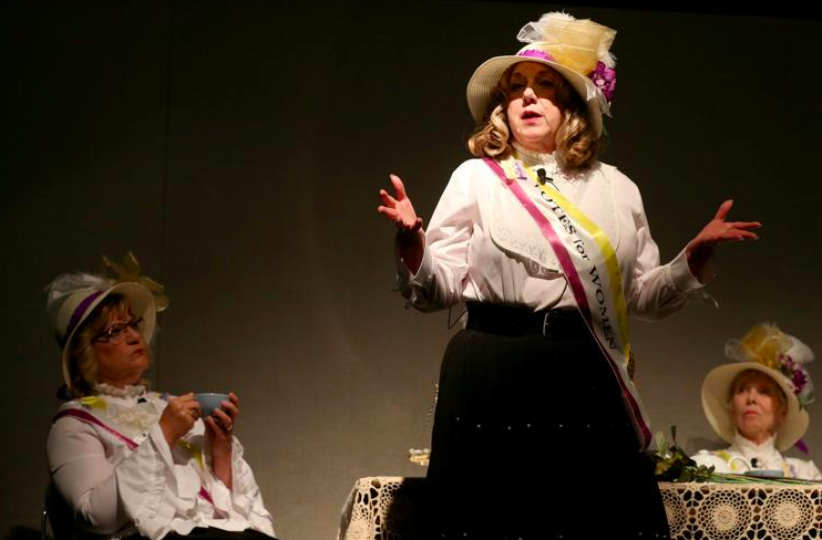 150th anniversary of women's suffrage event draws sellout crowd at LCCC
