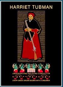 Product: Meneese Wall's Harriet Tubman Notecard    Vendor: AAUW