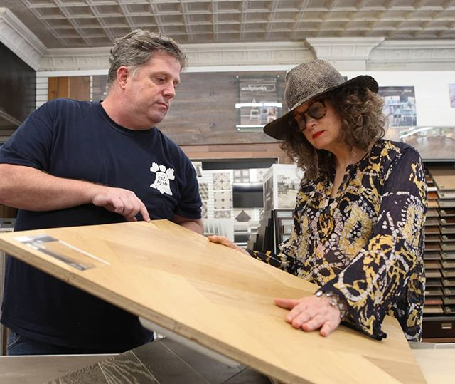 One way a flooring store can make your life easier? Expertise. All of our flooring consultants have a lifetime of experience, which means we know how to quickly find the best answers to all of your questions so you can focus on getting the floor that fits your design. . . . . . #bellfloorco #flooring #floors #flooringpro #flooringexperts #floorstore #tileshop #woodfloors #interiordesign #interiordesigner #phillydesign #phillyrealestate #familybusiness #19125 #19123