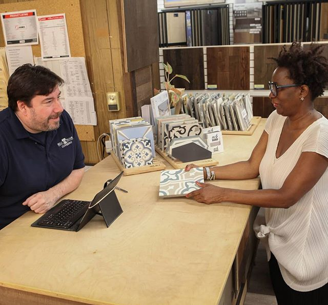 We don't have career sales people, we have lifelong flooring experts. Our team doesn't just know tile, wood, carpet, vinyl, etc. inside and out, but also understands the full construction ecosystem so we can help you bring your design ideas to life. Plus, we always work to get you the lowest prices on the best quality items possible. Just a few good reasons to partner with Bell Floor Covering on your next project. . . . . . #bellfloorco #floorstore #flooringexperts #flooringpros #flooringfamily #shoplocal #localbusiness #phillyfloors #phillydesign #phillystyle #interiordesign #interiordesigner