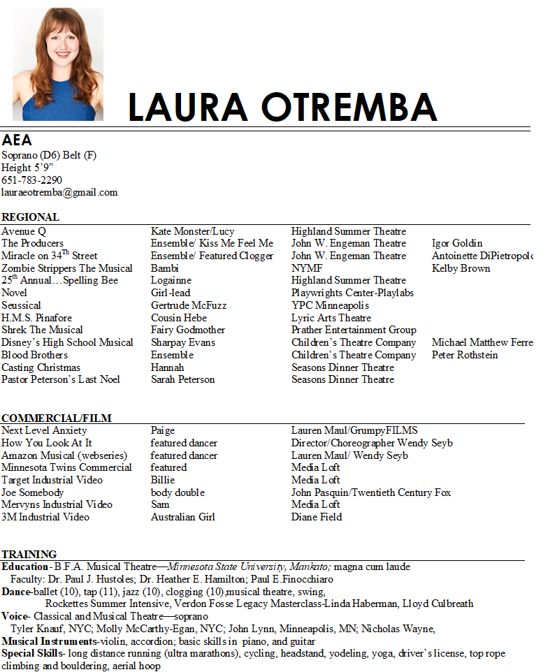 Laura otremba aea resume photo.png