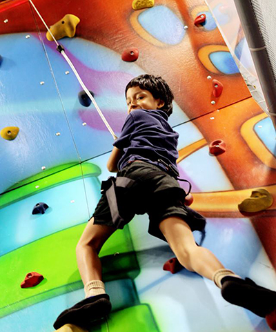 Funderdome climbing wall kid.jpg