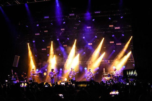Recordando una noche mágica en el Plaza Condesa #TBT  Recordándoles el showcase de PRESENTE el 30 de Mayo en el @caraduramx previo a la salida del disco. ¡Quedan muy pocos boletos!  Foto: @arturorent
