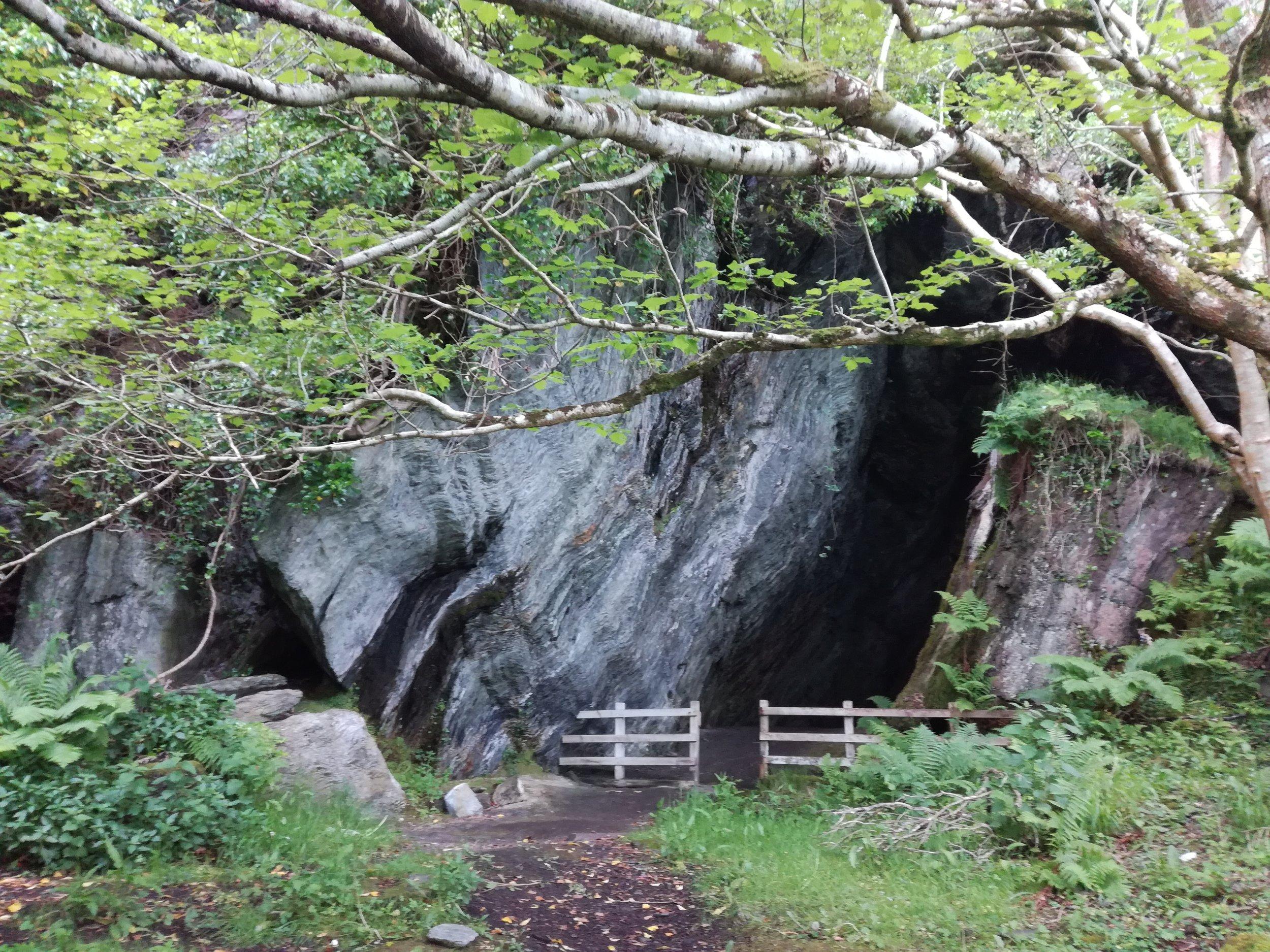 St Columba's Cave, Ellary, Argyll -  Tour & Walk in small groups - Roaming Scotland.jpg