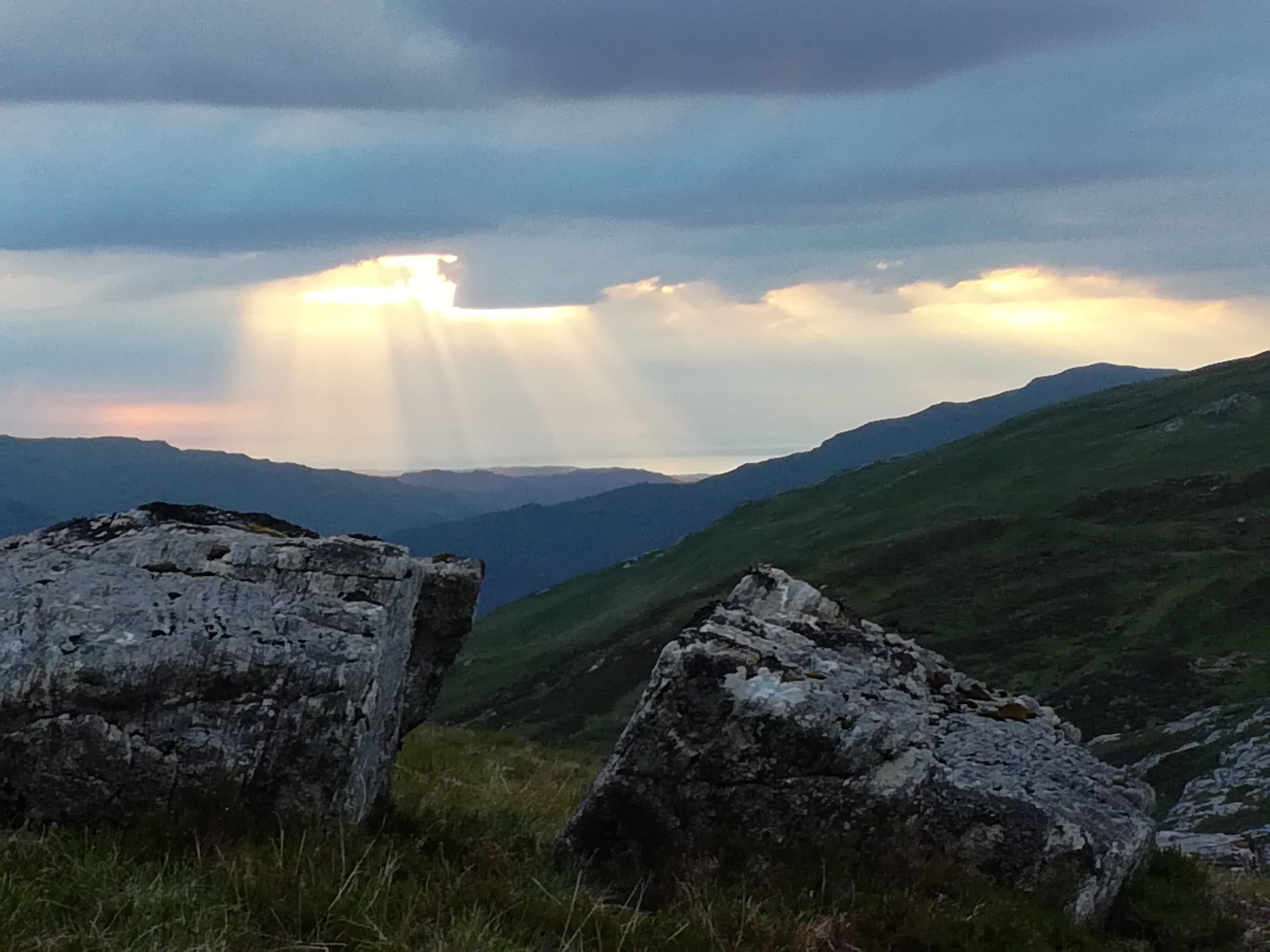 View from another wild camp in Applecross Hills, Scottish tours with walks, small group adventures, Roaming Scotland.jpg