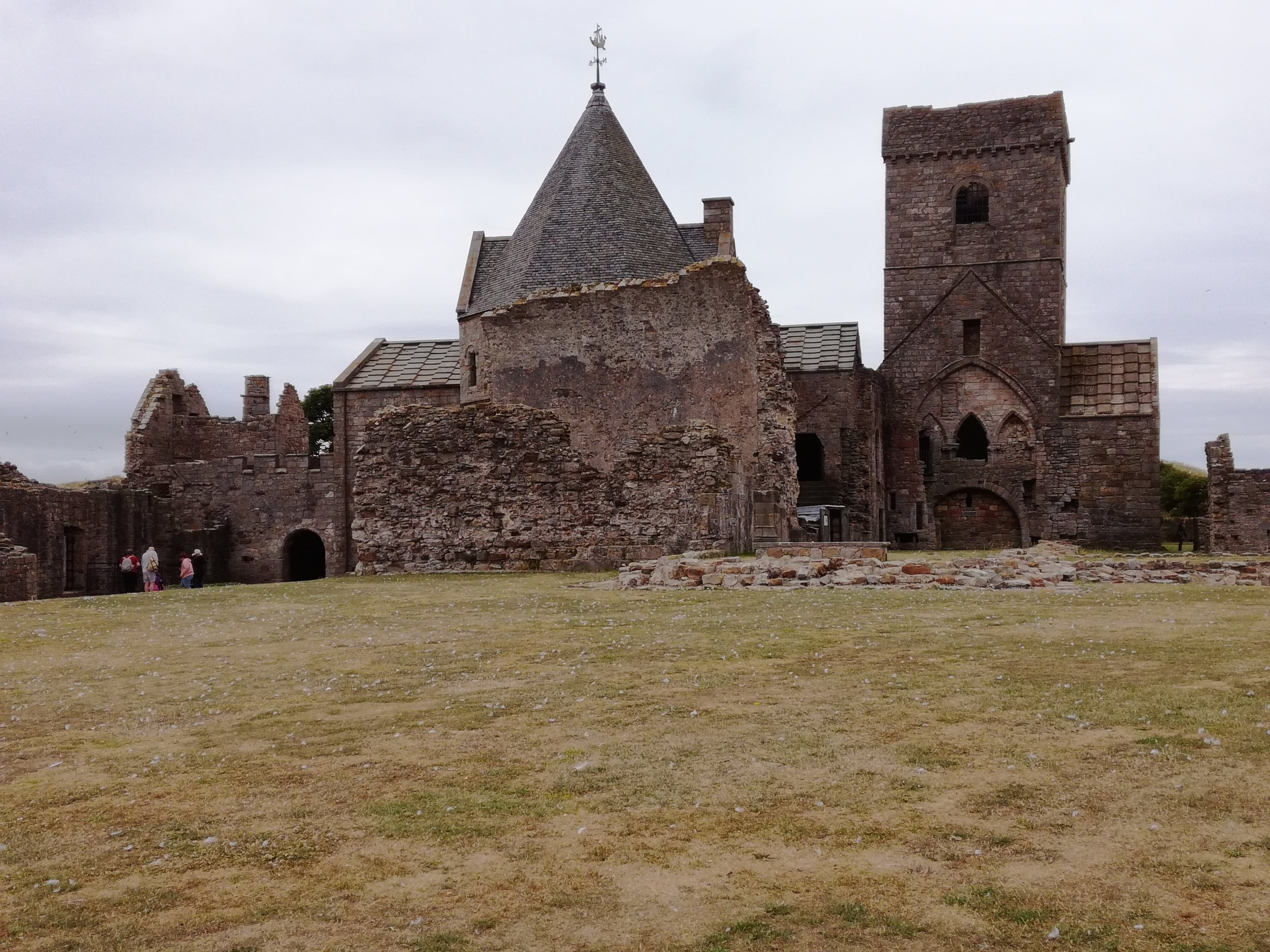 Inchcolm Abbey, Firth of Forth, Edinburgh, Scottish tours with walks, small group adventures, Roaming Scotland.jpg