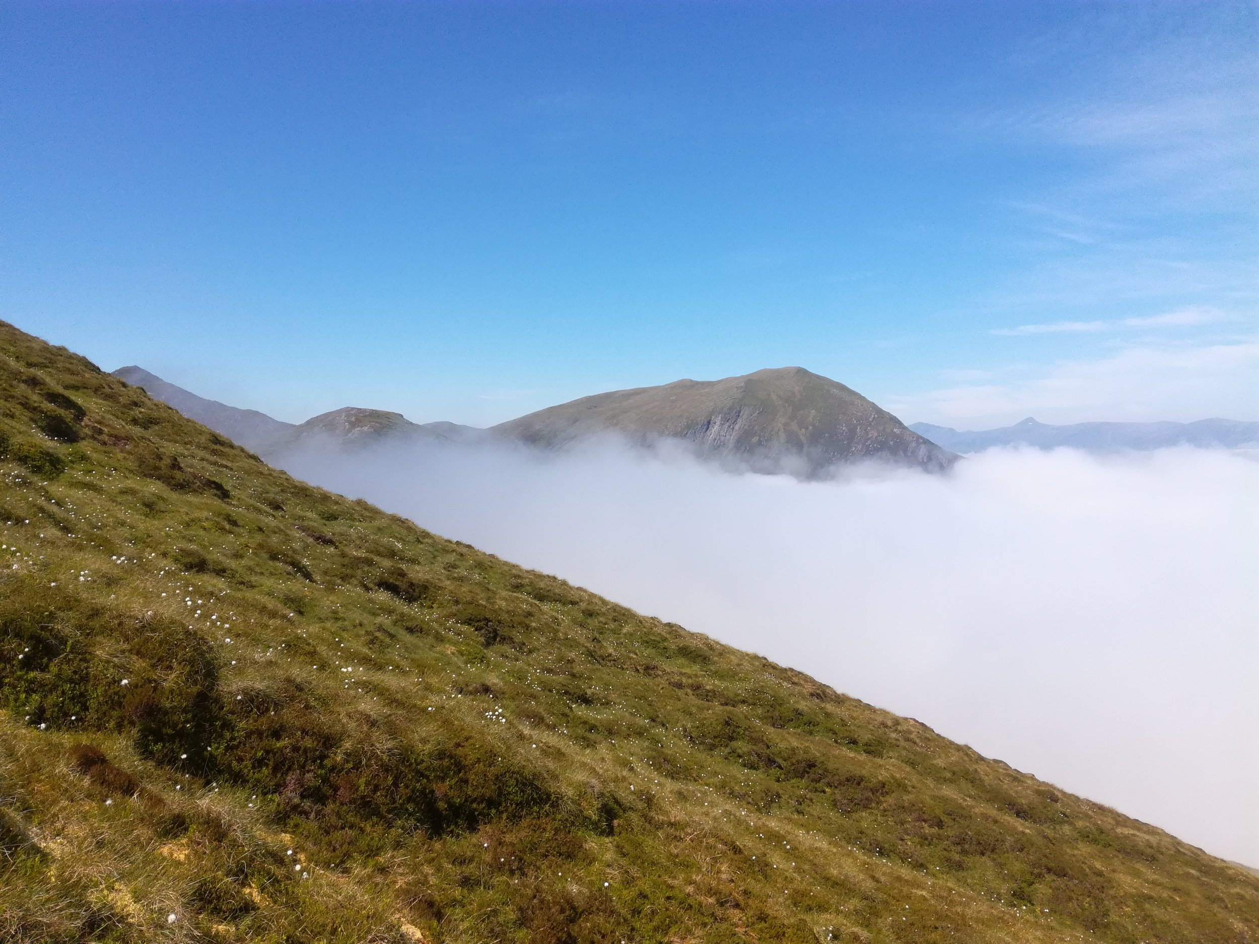 Climbing above the cloud -  Tour & Walk in small groups - Roaming Scotland..jpg