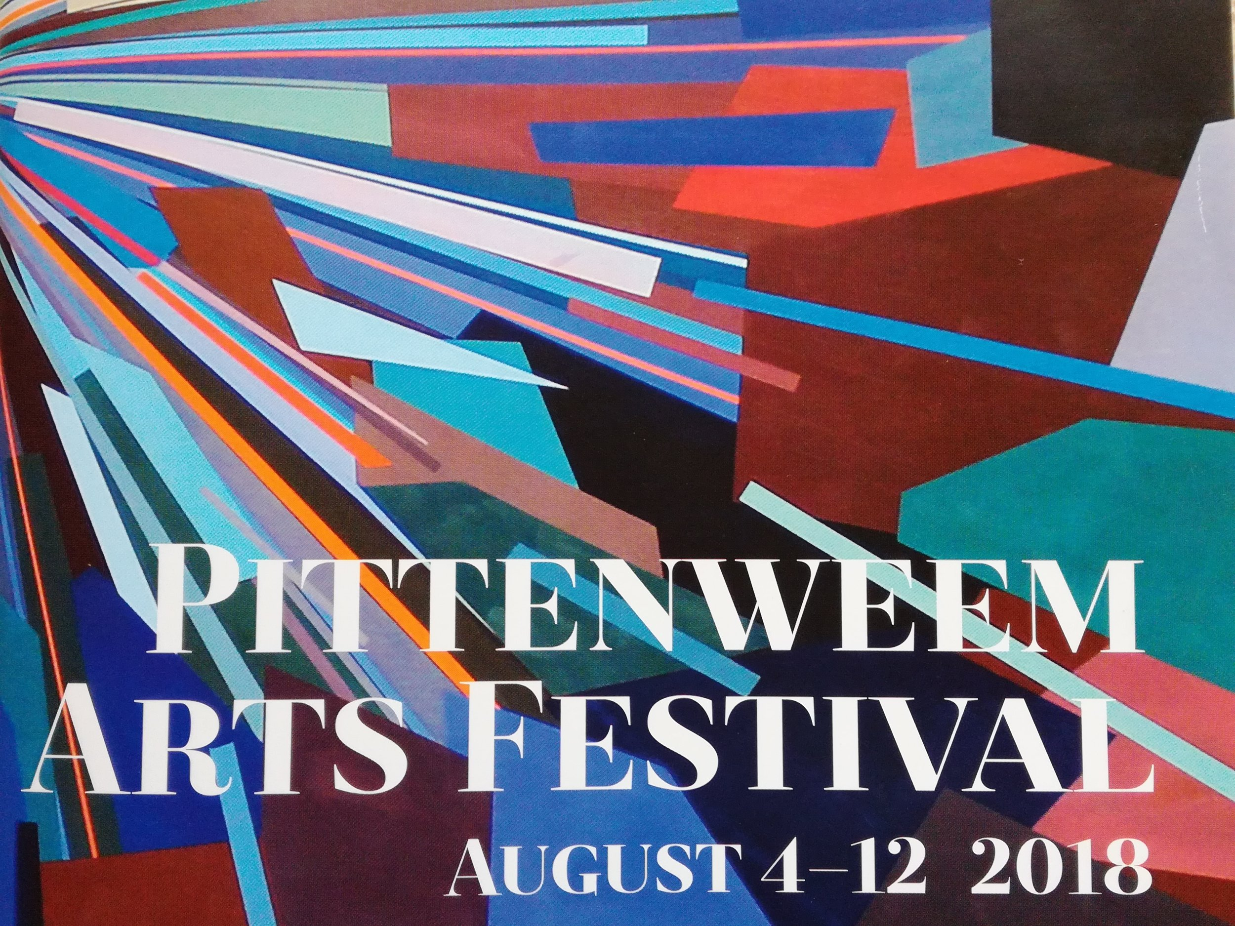Pittenweem truly comes alive during it's week-long summer arts festival when many a private home becomes a public gallery for paintings, jewellery, pottery and other handicrafts.