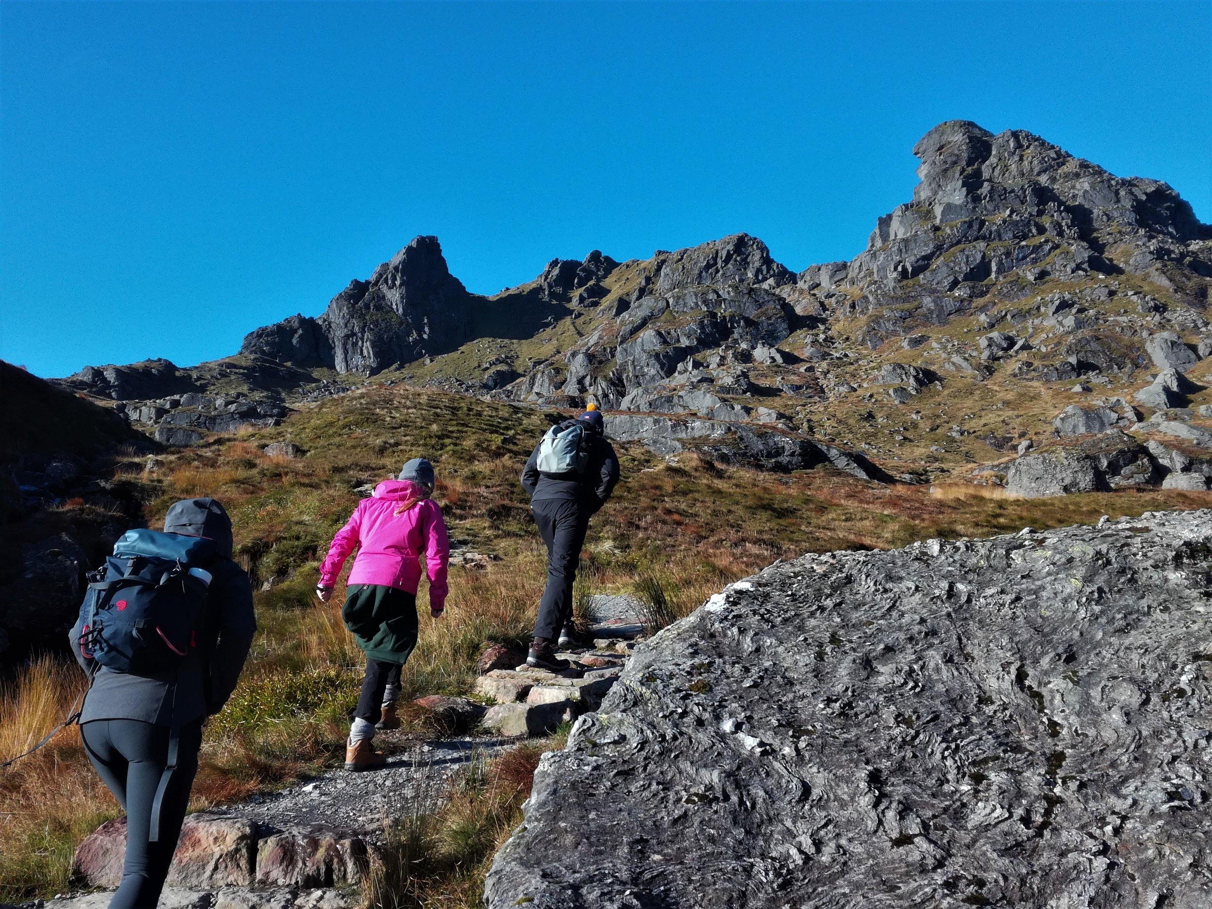 The Cobbler, climb a Scottish Hill, Scottish tours with walks, small group adventures, Roaming Scotland.jpg