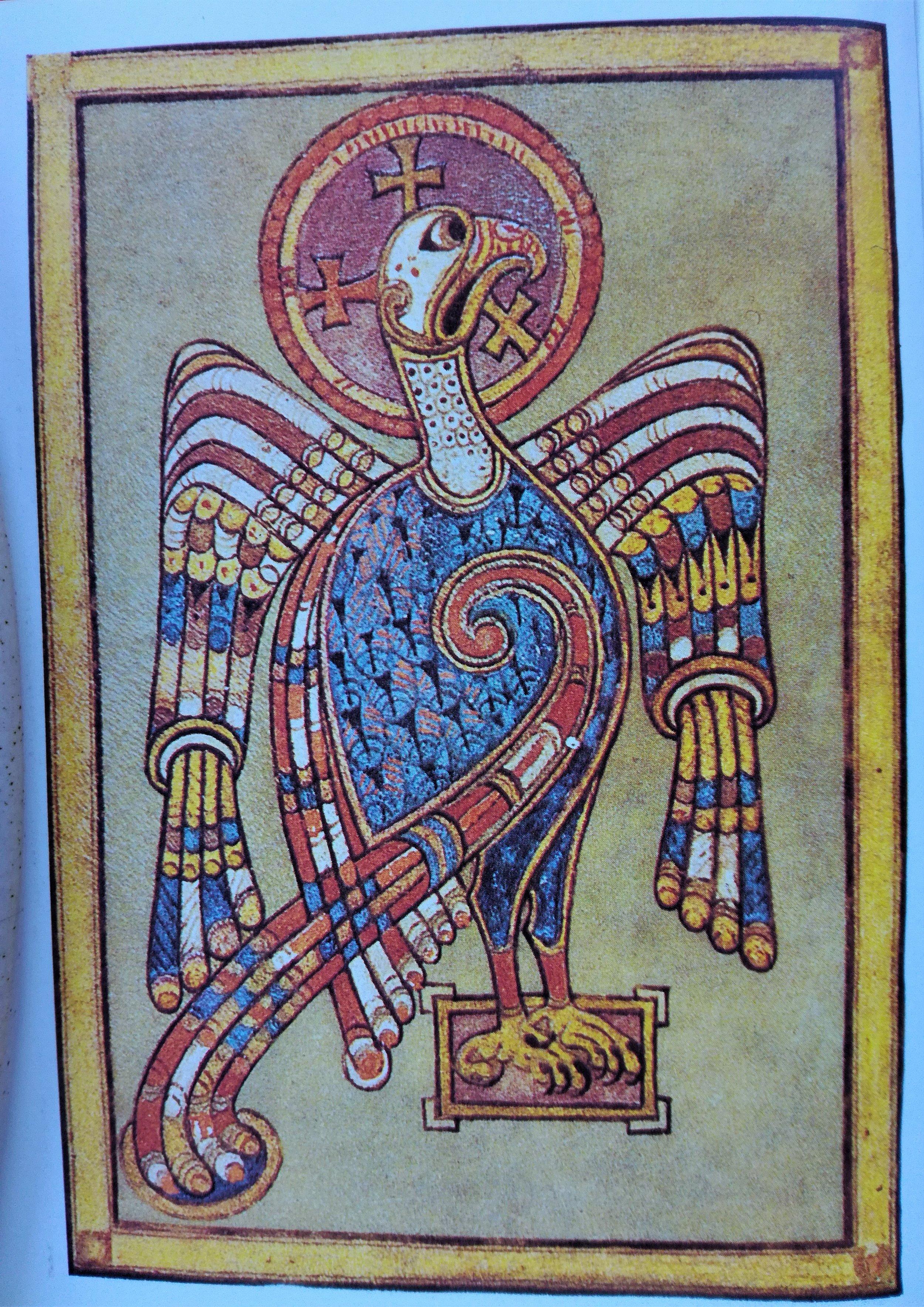 Illuminated script, Celtic Christian Retreat, Roaming Scotland.jpg