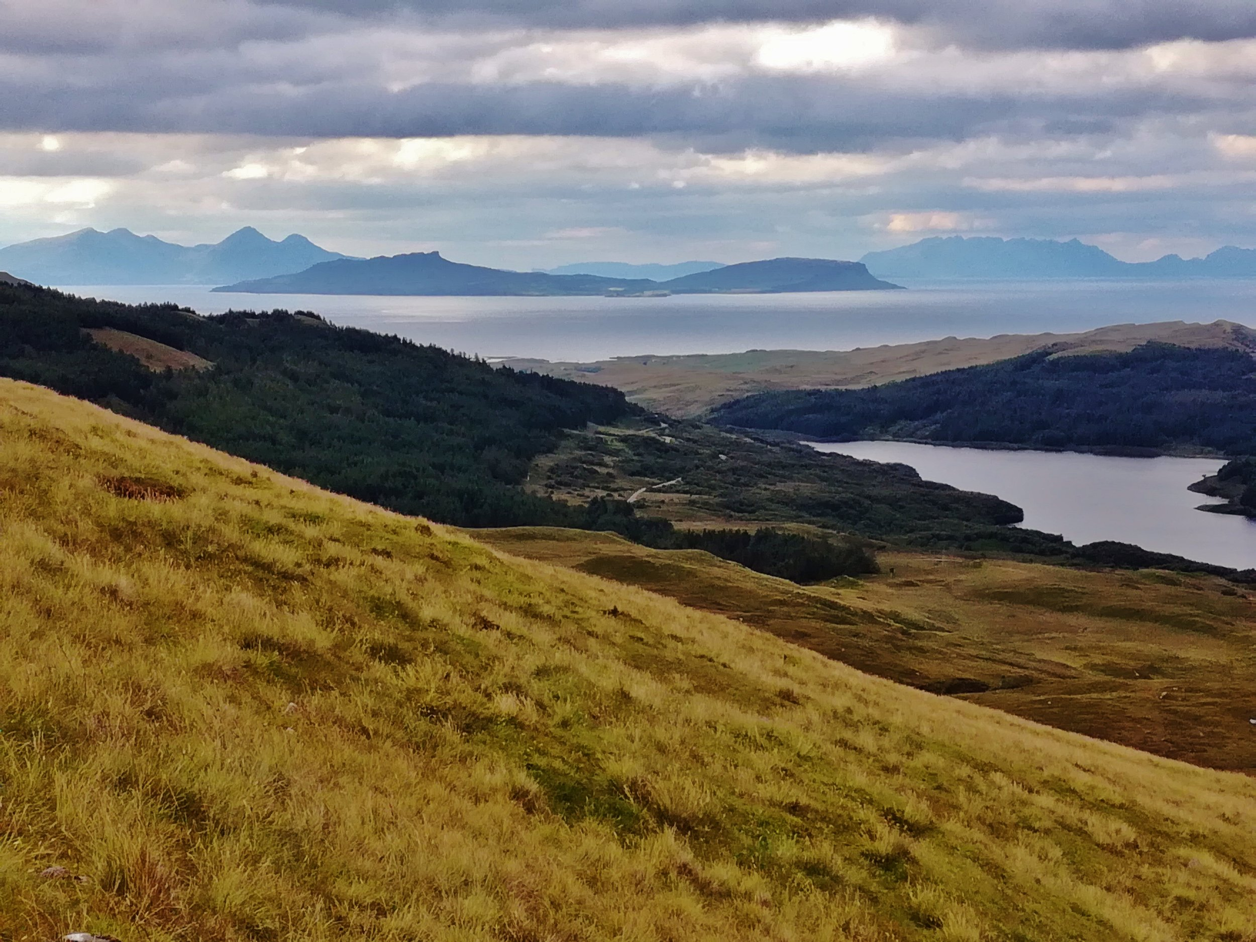 Eigg, Rum and Skye from Ben Hiant -  Tour & Walk in small groups - Roaming Scotland..jpg