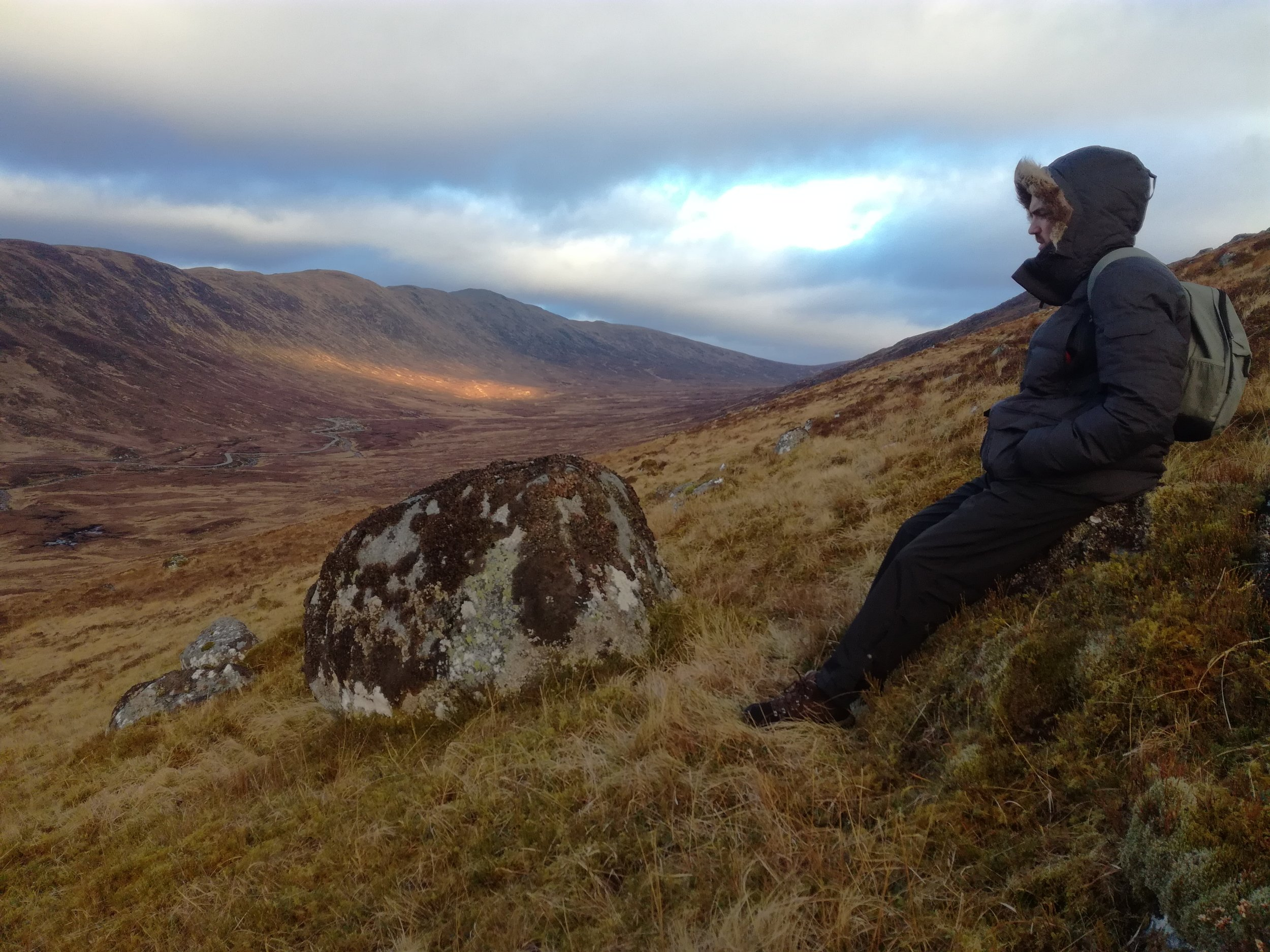Climbing Scottish Hills, tours with walks, small group adventures, Roaming Scotland.jpg