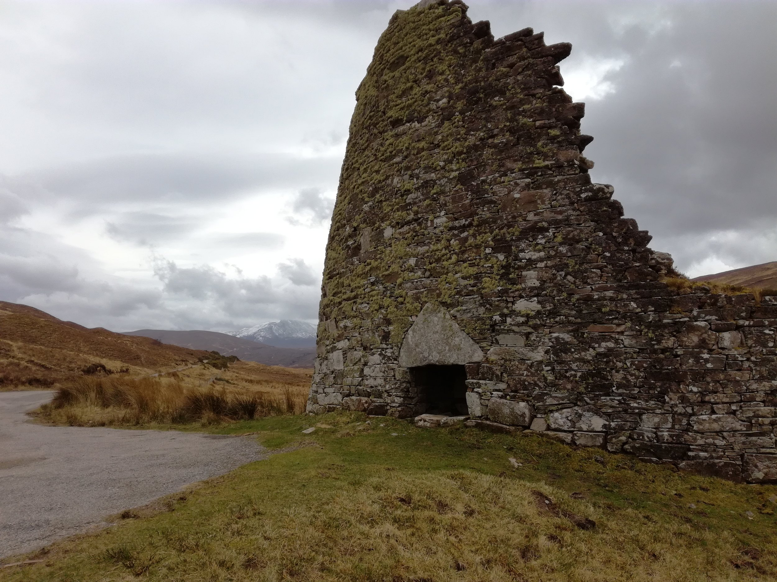 Broch in Northern Scottish Highlands, Scottish tours with walks, small group adventures, Roaming Scotland.jpg