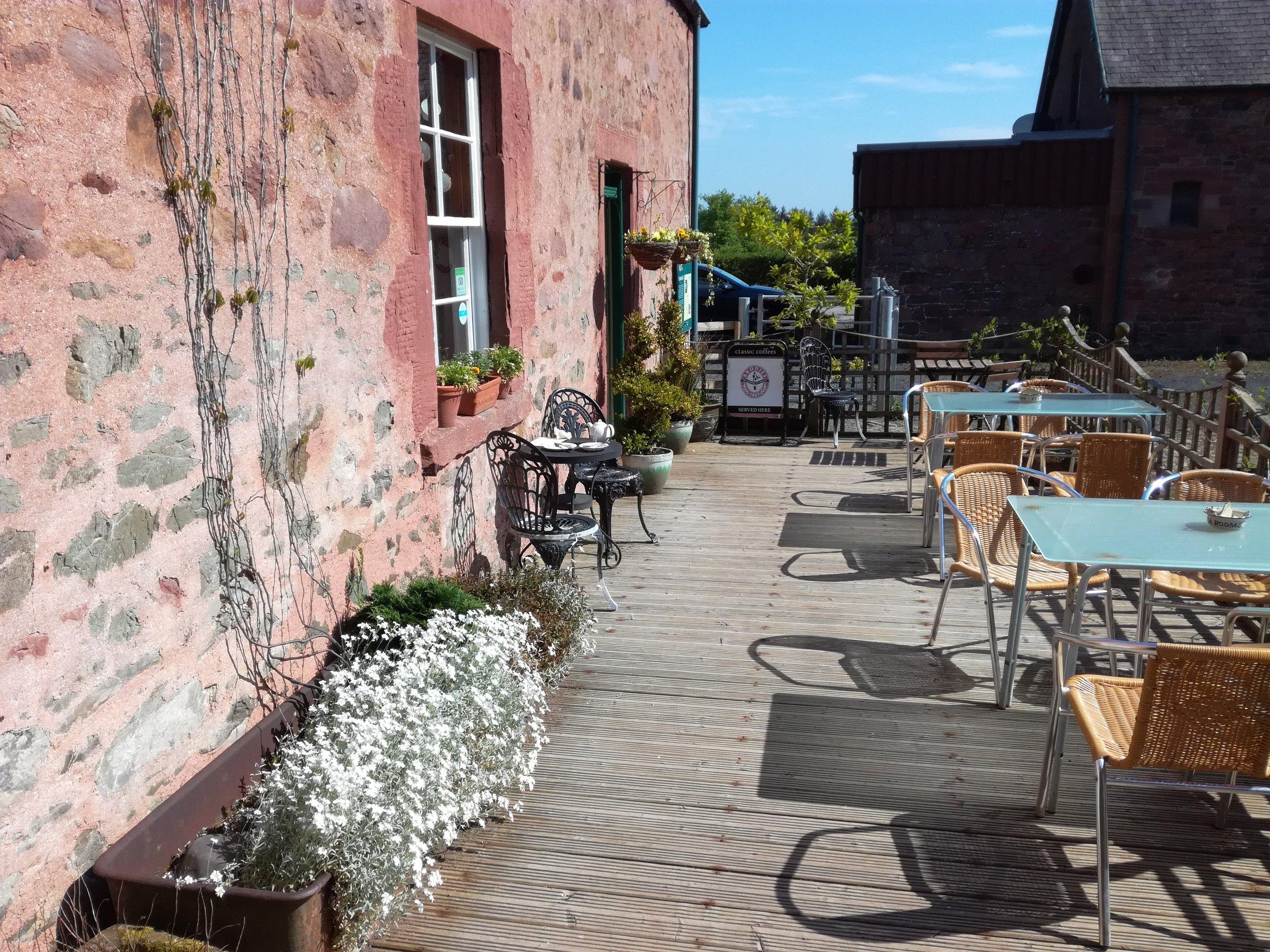 An excellent farm cafe at Old Melrose