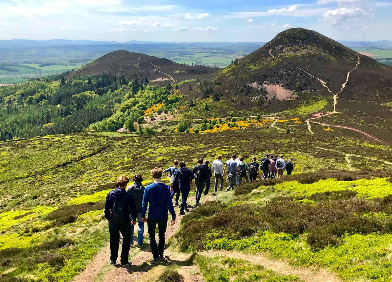 Walking in the Eildon Hills - Tour & Walk in small groups - Roaming Scotland..jpg