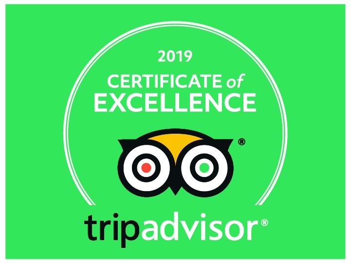 Click on TripAdvisor logo for reviews