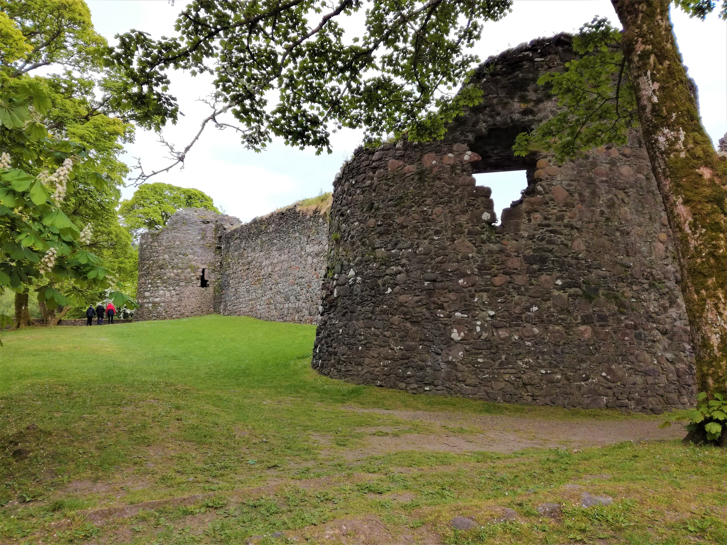 Medieval castle ruins, Fort William -  Tour & Walk Scotland in small groups - Roaming Scotland..jpg