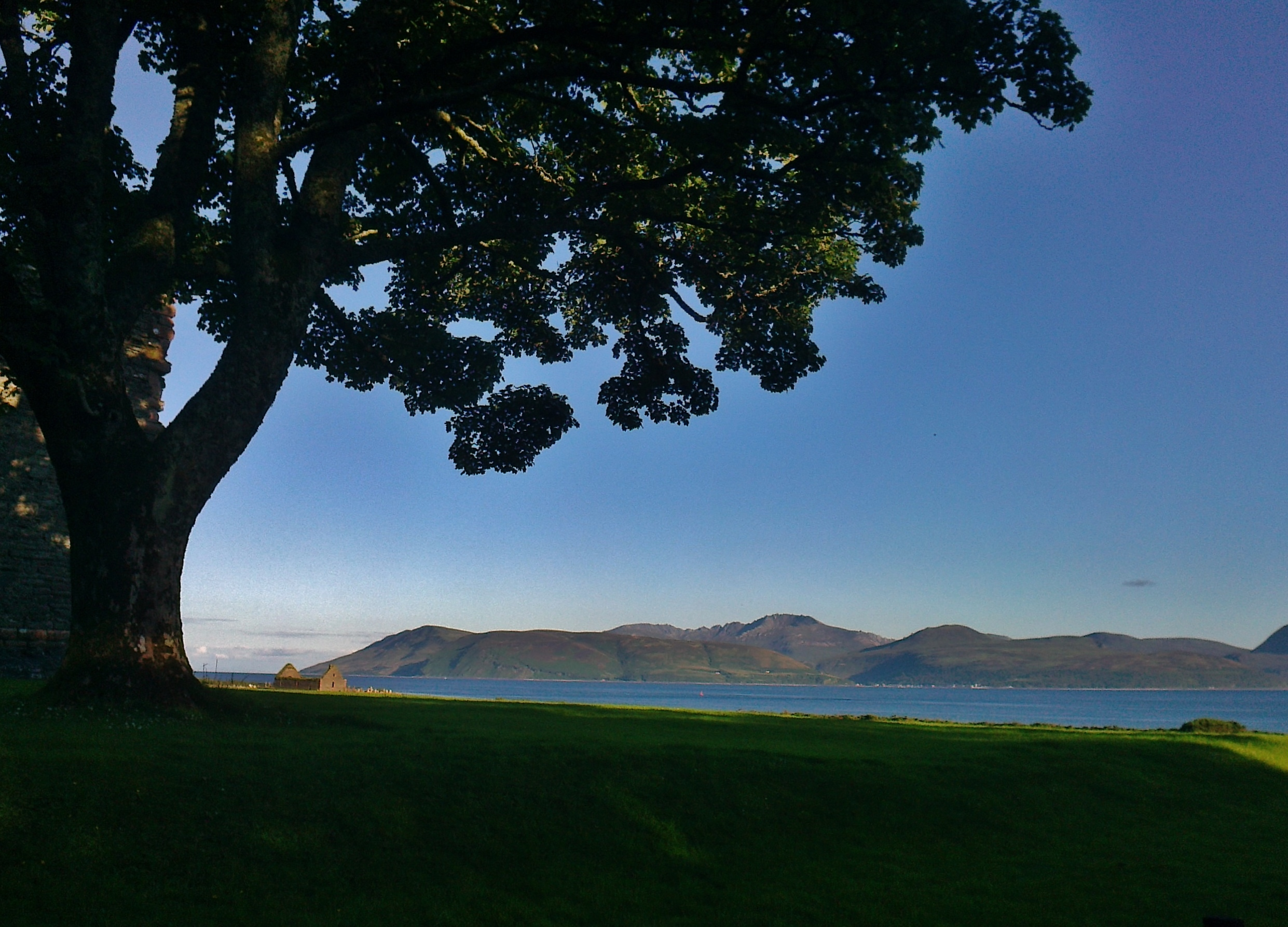 Isle of Arran from Clonaig, Kintyre