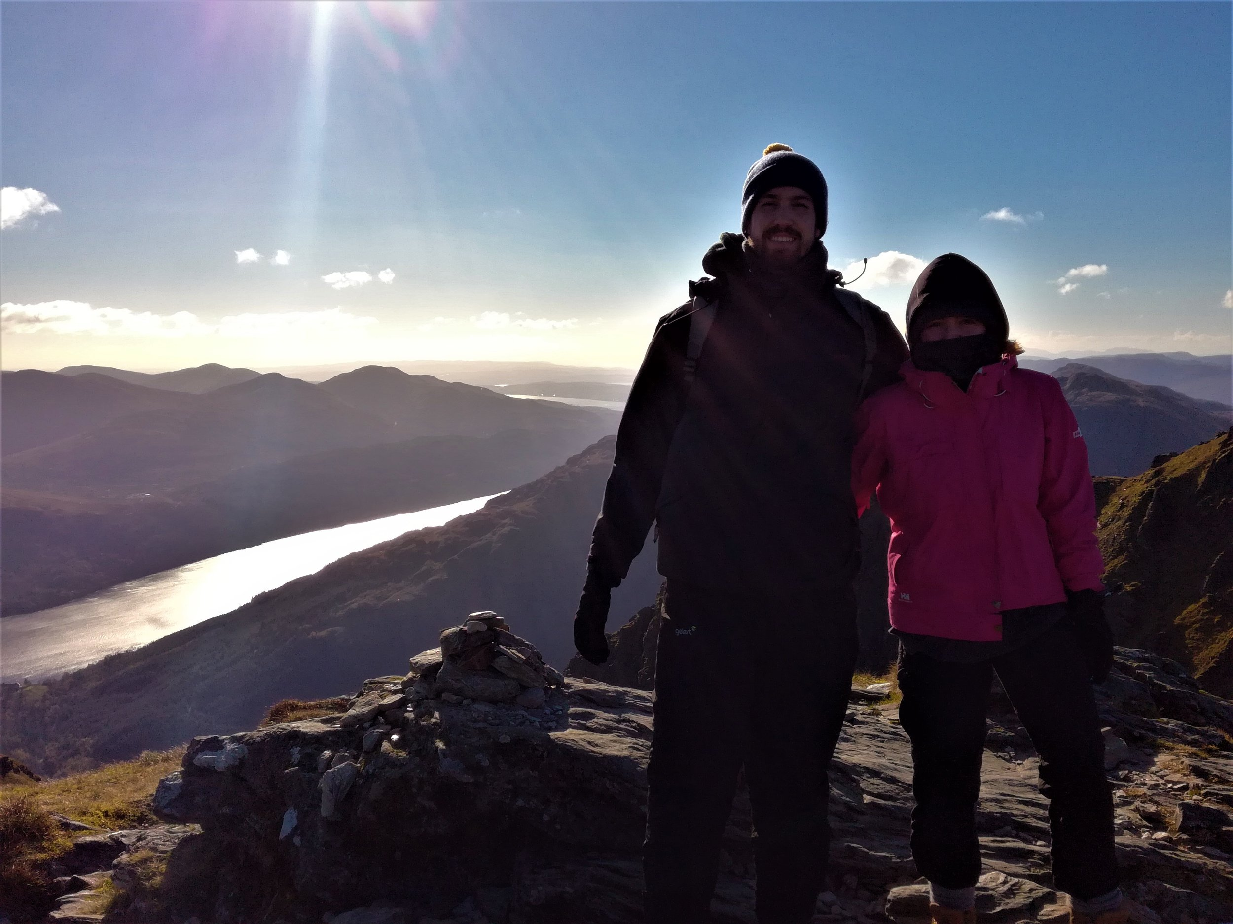 On the Cobbler's summit, Tour & Walk Scotland in small group adventures - Roaming Scotland.jpg